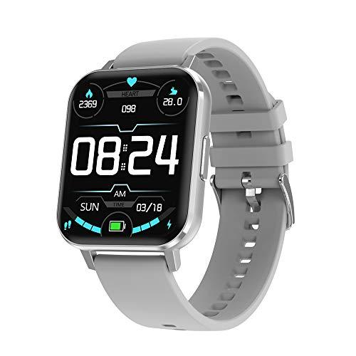2021 DALIL DTX Smartwatch Orologio 1.78 Orologio Sportivo IP68 Impermeabile, Con Monitoraggi Saluti e Funzioni Sport per Android e iOS (Silver)