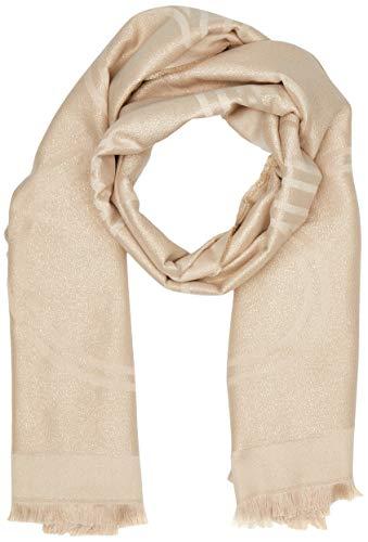 Calvin Klein Damen K60k606174 Mütze, Schal & Handschuh-Set, Beige (Champagne 0F4), One size (Herstellergröße: OS)