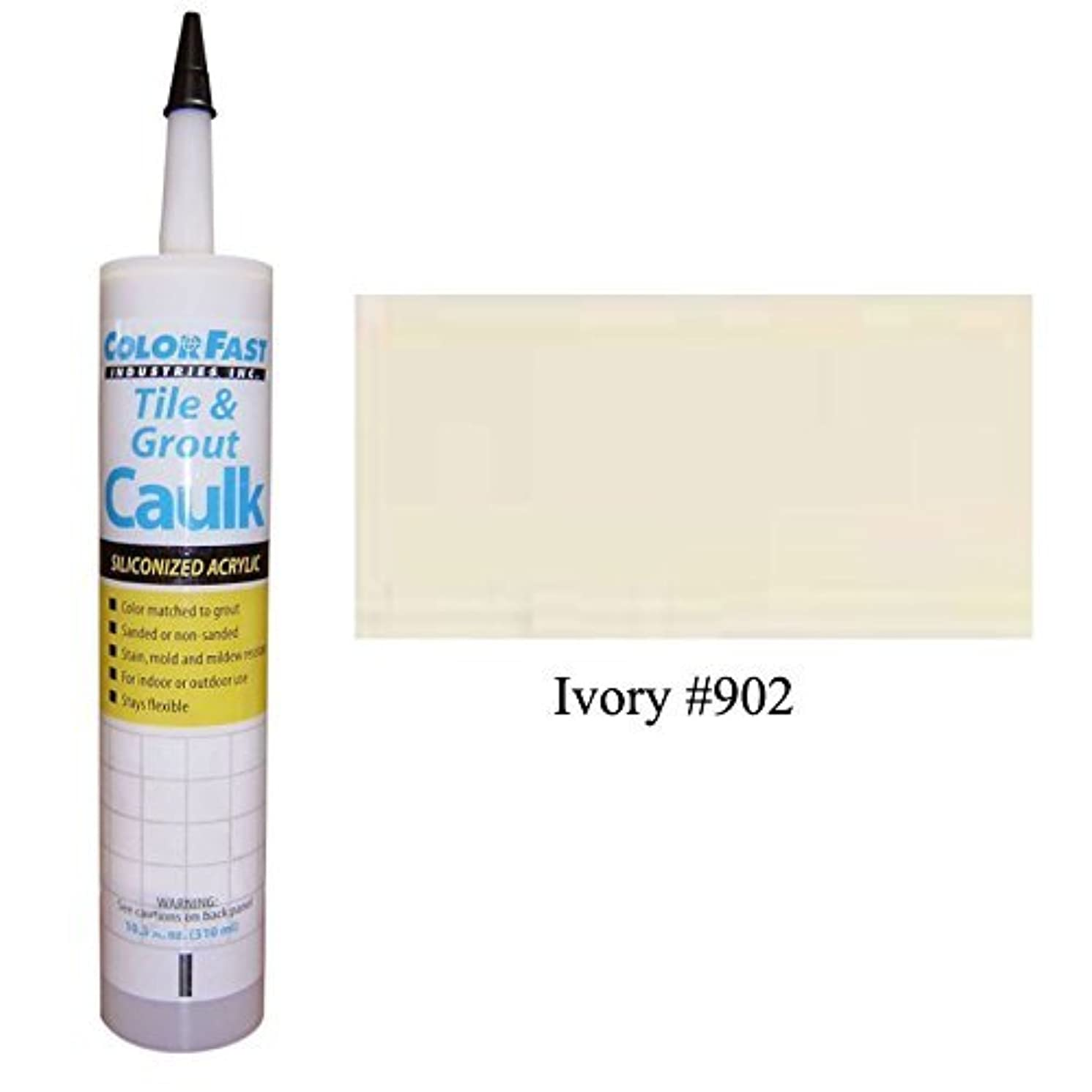 TEC Color Matched Caulk by Colorfast (Sanded) (902 Ivory)
