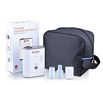Wave All Purpose Portable Cleaning System for Machines Tubing Accessories and Personal Items I No Filter Change Required   For Home and Travel Use
