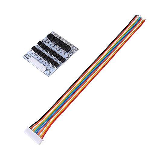 Akozon Batterie BMS PCB Board Module 10S 36V 40A Li-Ion-Batterie-Schutz-Brett BMS PCB für Ternary Kobalt-Säure-Batterien mit Balance