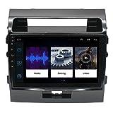 Amimilili Coche Radio Android 9 Auto Estéreo Autoradio Bluetooth para Toyota Land Cruiser 2007-2015 Navegación GPS WiFi Cámara Trasera Bluetooth FM Mandos del Volante,8 Core WiFi 2+32g