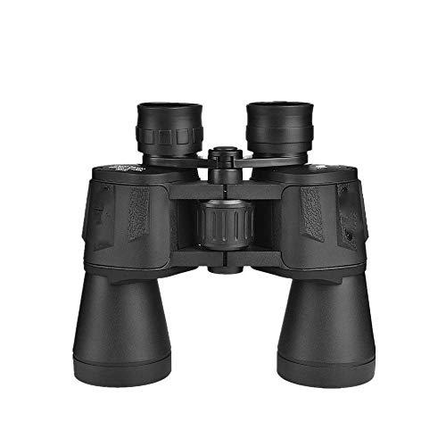 CESULIS High Definition Telescopio High Times 20X50 Alta Definición potentes prismáticos nitrógeno Impermeable telescopio Calidad Wideangle Central Binocular con Zoom LLL visión Nocturna,