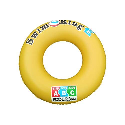 Yowablo Erwachsene verdickte aufblasbare Arme von Männern und Frauen unter Schwimmringschwimmen e (90cm,Gelb)