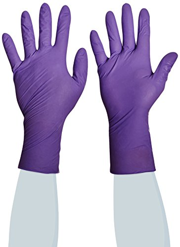 Halyard Health 50601 Safeskin Small Pack of 50 Glove Hi-Risk Non-sterile powder free Nitrile