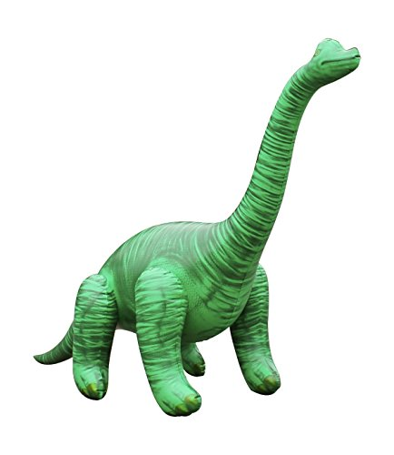 Goodtimes Dinosaurier Brachiosaurus aufblasbar - ca. 120cm - Kinderspielzeug - Dekoration