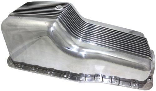 Mota Performance A70899 Aluminum Engine Oil Pan Finned 5 Quart Capacity