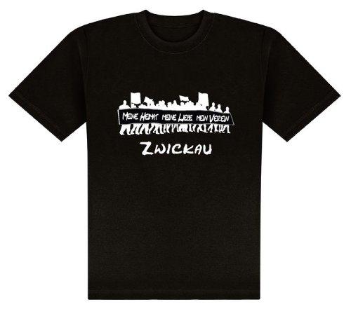 World of Football T-Shirt Meine Heimat. Zwickau - L