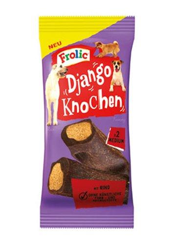 Frolic   Snack Django Knochen mit Rind   12 Stück