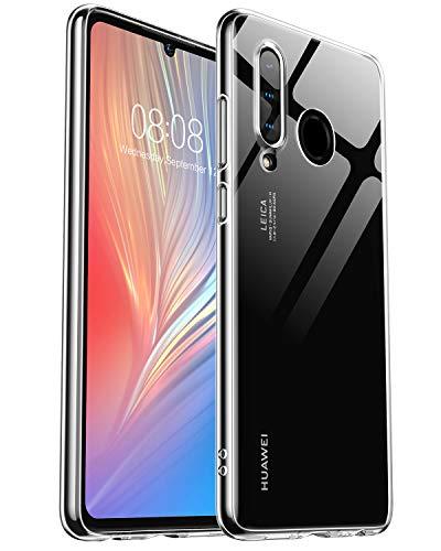Humixx Huawei P30 Lite Hülle Transparent, Ultra Dünn P30 Lite Handyhülle, Silikon TPU Hülle P30 Lite, Anti-Wasserflecken Schutzhülle für Huawei P30 Lite/P30 lite New Edition- Klar