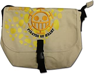 One Piece Messenger Bag - Pirates of Hearts (Law), Multicolor, 14""
