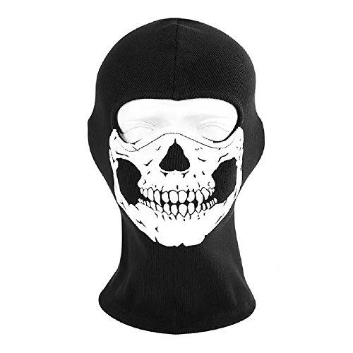 XUE Pasamontañas de cara completa, máscara de esquí, para hombres, mujeres, invierno, cortavientos, motocicleta, calentador de cuello, táctico, capucha, snowboard, ciclismo
