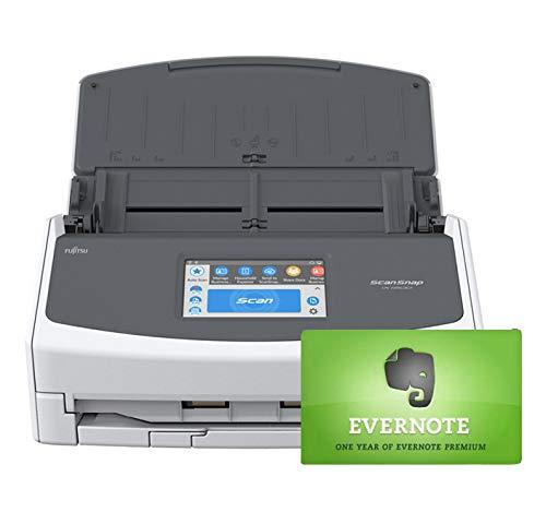 Fujitsu ScanSnap iX1500 Document Scanner with Evernote Premium