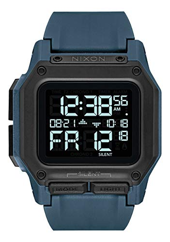 Nixon Reloj Digital para Hombre de con Correa en Sintetico A1180-2889-00