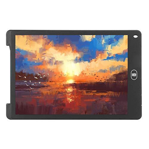 Tableros de dibujo para niños Tableta de escritura Escritura LCD Escuela de escritura digital electrónica para niños Regalo Juguete Oficina Hogar(black)
