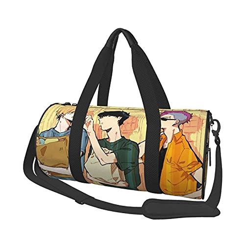 Bolsa de viaje Banana Fish Gym Bag para hombres y mujeres, bolsa de viaje grande y duradera