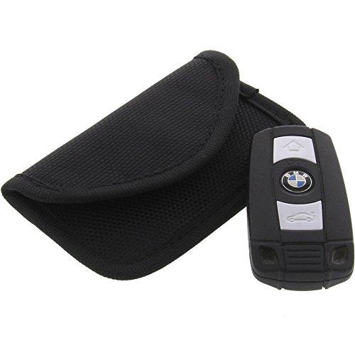 foto-kontor Strahlenschutz Tasche für Keyless Schlüssel Entry Open Go Diebstahl Schutz kein Signal Abfangen M