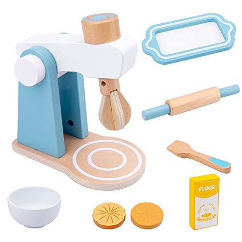 dontdo simulación casa juego de juguetes de cocina juego de juguetes de madera tostadora máquina...