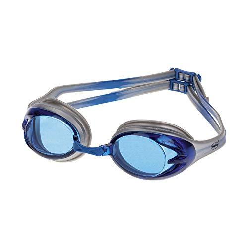 Fashy Power Schwimmbrille, Silber/Blau, L