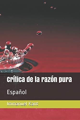 Crítica de la razón pura: Español