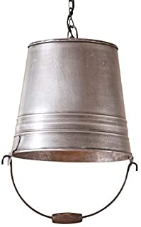 Irvin's Tinware Water Bucket Pendant Light 16