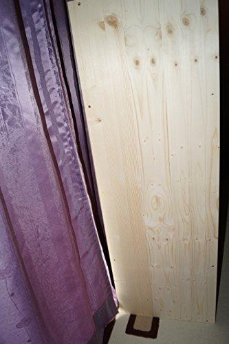 2in1 Regal Sideboard Bücherregal Schrank Wohnwand aus Massiv Fichte 120x64x40cm geschliffen Made in Germany - 7