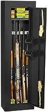First Watch / Homak 6-Gun Security Cabinet, Gloss Black, HS30103605