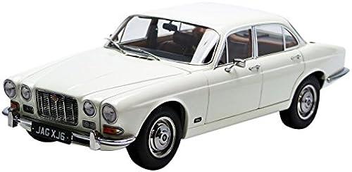 Paragon 98301l Jaguar XJ6 8L Serie 1 LHD 1971 Echelle 1 18 Weiß