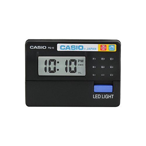 Casio PQ-10-1R (PL001) Digital Table Clock