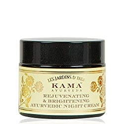 Kama Ayurveda Rejuvenating and Brightening Ayurvedic Night Cream are best for the ladies who have so many things to handle that keeps them on their toes all day.Click to read a curated list of 8 Ayurvedic beauty brands you should know for natural and loving touch with Ayurvedic care #ayurvedicaskincare #ayurvedicaskincarefaces ##ayurvedicaskincareproducts #antiagingskincareproducts