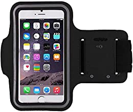 Black Sports Running Jogging Gym Armband Arm Band Case Cover Holder for iPhone 6/iPhone 6S 4.7