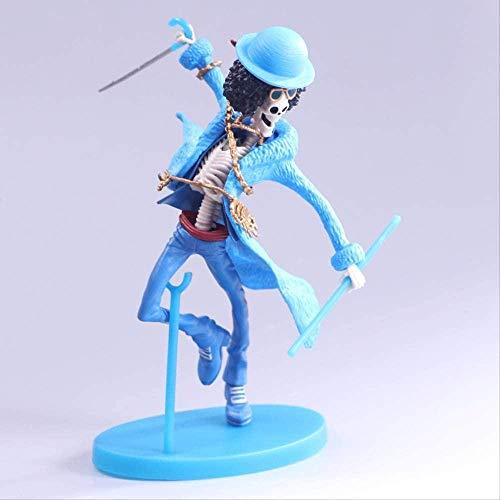 KIJIGHG One Piece Brooke Doll Figura de Anime Figuras de accion Modelo de Personaje de Anime 20Cm