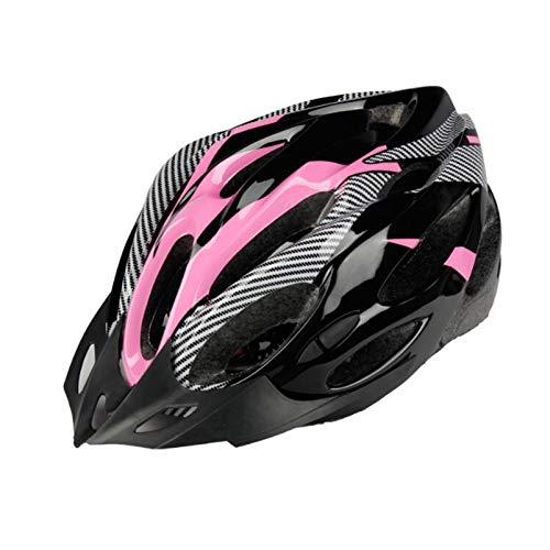 SHGK Casco de Bicicleta Un Casco Casco autopropulsado Casco Dividido de Bicicleta de montaña Accesorios para Equipos de equitación Casco de Fibra de Carbono