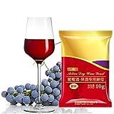 Sobre De Levadura De Vino Versátil De 10 G Para Bricolaje De Vino, Levadura Seca De Fermentación Completa, Cerveza Casera Para Todo Uso