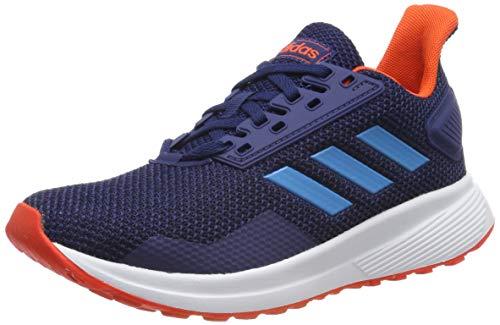 adidas Duramo 9 K, Zapatillas de Running Unisex Adulto, BLU Dark Blue Shock Cyan Active Orange Dark Blue Shock Cyan Active Orange, 37 1/3 EU