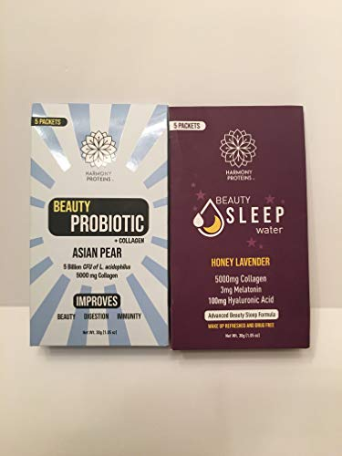 Harmony Proteins Beauty Probiotics Asian Pear & Honey Lavendar Bundle