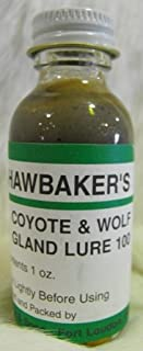 Hawbakers Coyote and Wolf Gland Lure 100 1 oz.