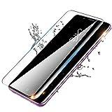 Hulier Protector de pantalla para Galaxy S9 [2 unidades], compatible con S9 Samsung [dureza 9H], [cobertura completa], [Full transparente]
