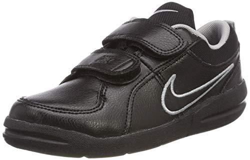 Nike Pico 4 (PSV), Zapatillas de Tenis Unisex Niños, Negro (Black-Metallic Silver 001), 28 EU