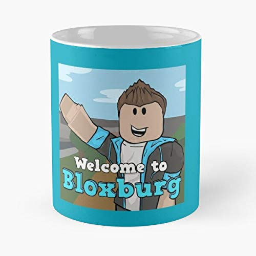 Welcome To Bloxburg Fan Art Classic Mug - 11 Ounce For Coffee, Tea, Cocoa And Mulled Drinks, The Best Gift Holidays