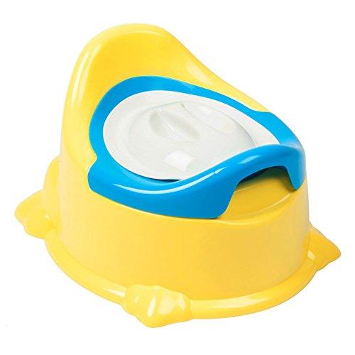 Hankyky Potty Chair Siège d'apprentissage des toilettes pour bébé, bébé Siège de piédestal amovible 3-en-1 pour urinoir Potty