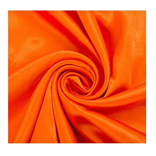 Yankai stof effen satijn, decoratieve stof gordijn voor deur pyjama jurk breedte 150 cm NIU