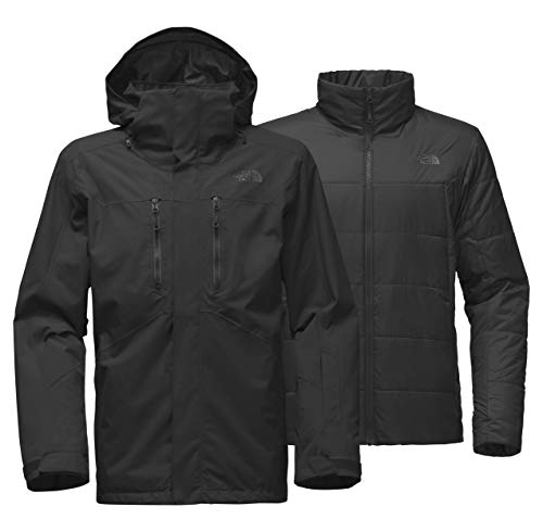 The North Face Men's Clement Triclimate Jacket, TNF Black, S