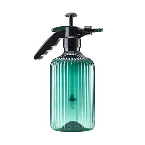 Regadera Botella De Rociador Antideslizante Productos Vintage Equipo De Riego Verde Esmeralda Rayas Botella De Plástico Botella De Spray
