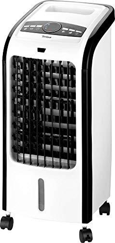 Trisa Hydro Cool Luftkühler (L x B x H) 28 x 25 x 57cm Weiß, Schwarz mit Fernbedienung, Timer, Osz