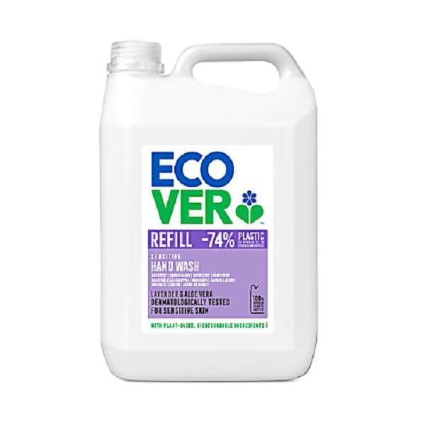 Ecover Hand Soap Refill, Lavender & Aloe Vera, 5L