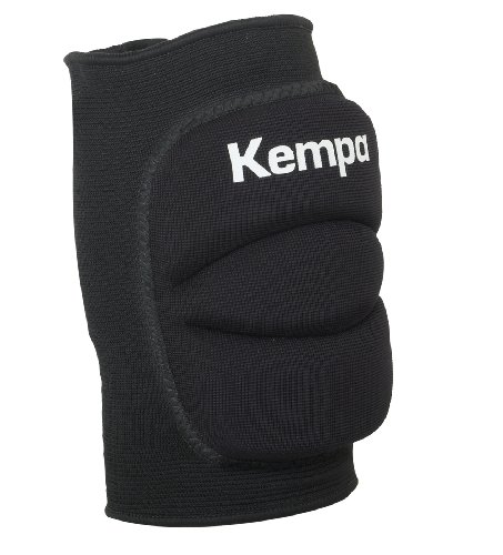 Kempa 200651001 Rodillera, Unisex Adulto, Negro, M