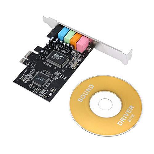ukYukiko PCI-E Express 5.1ch CMI8738 geluidskaart met lage Amerikaanse voorraden