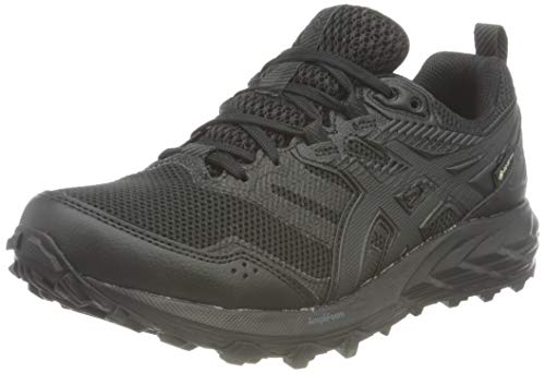 ASICS Damen Gel-Sonoma 6 G-TX Trail Running Shoe, Black/Black, 39 EU
