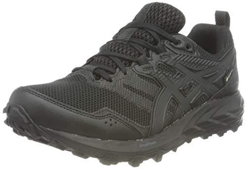 ASICS Damen Gel-Sonoma 6 G-TX Trail Running Shoe, Black/Black, 40.5 EU